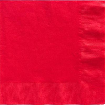 Red Dinner Napkins 50ct