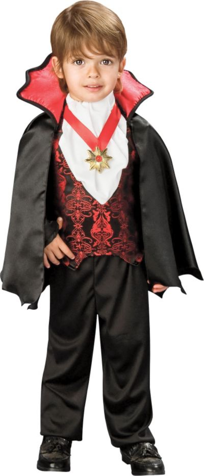 Toddler Boys Transylvanian Vampire Costume