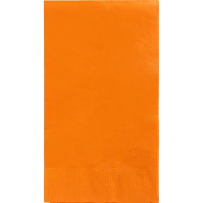 Orange Guest Towels 40ct