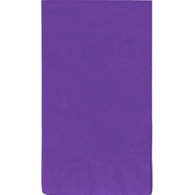 Purple Guest Towels 40ct
