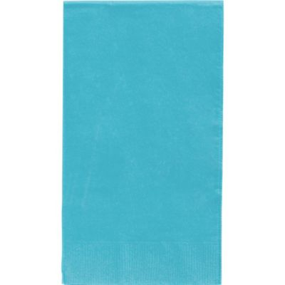 Caribbean Blue Guest Towels 40ct