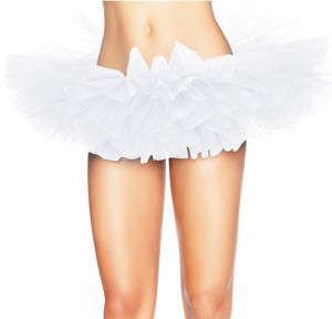 Adult White Organza Tutu