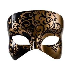 Golden Venice Masquerade Mask