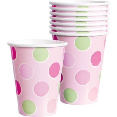 Little Princess Baby Shower Cups 8ct