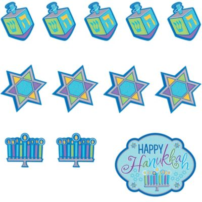Hanukkah Cutouts 30ct