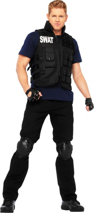 Adult SWAT Commander Costume