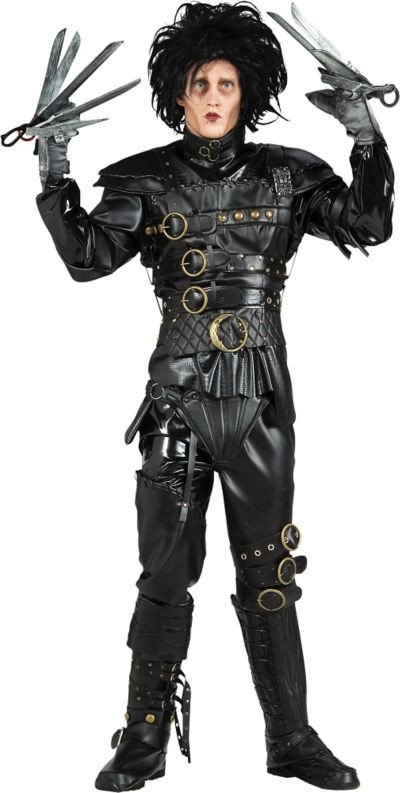 Adult Edward Scissorhands Costume Grand Heritage
