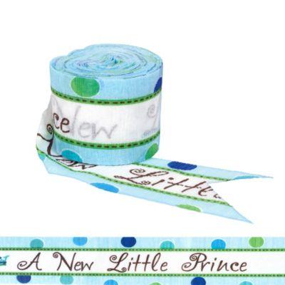 Little Prince Baby Shower Crepe Streamer 30ft