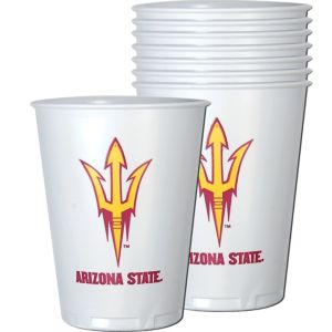 Arizona State Sun Devils Plastic Cups 8ct