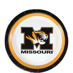 Missouri Tigers Dessert Plates 12ct