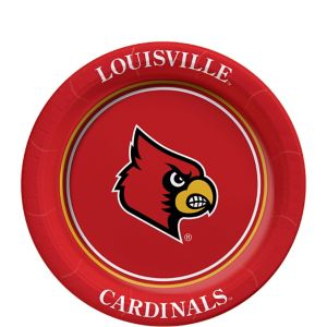 Louisville Cardinals Dessert Plates 8ct