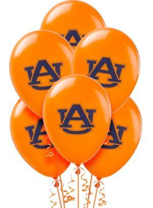 Auburn Tigers Balloons 10ct