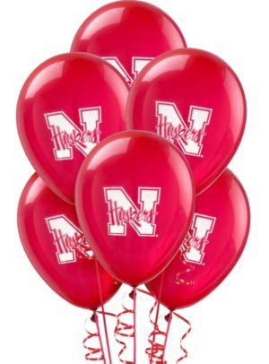 Nebraska Cornhuskers Balloons 10ct