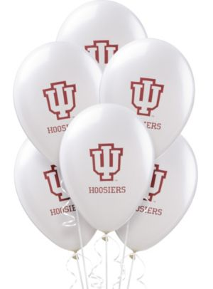 Indiana Hoosiers Balloons 10ct