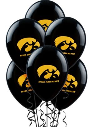 Iowa Hawkeyes Balloons 10ct