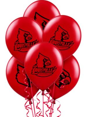 Louisville Cardinals Balloons 10ct