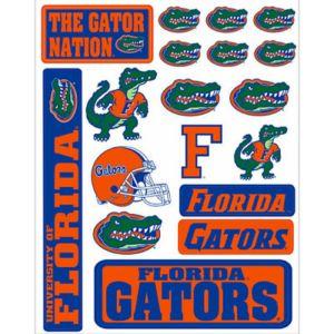 Florida Gators Decals 18ct