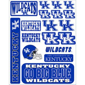 Kentucky Wildcats Decals 18ct