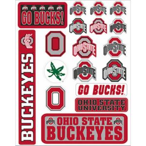 Ohio State Buckeyes Decals 18ct