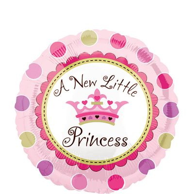 Baby Shower Balloon - Little Princess Crown