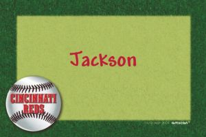 Custom Cincinnati Reds Thank You Notes