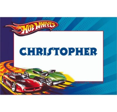 Custom Hot Wheels Thank You Notes