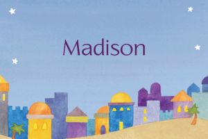 Custom Jerusalem at Twilight Thank You Notes