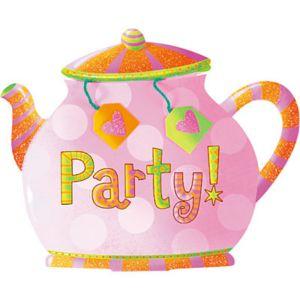 Tea Party Large Invitations 8ct