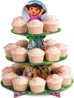 Dora Cupcake Stand Holds 24