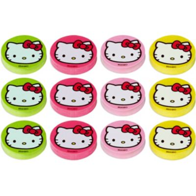 Hello Kitty Erasers 12ct