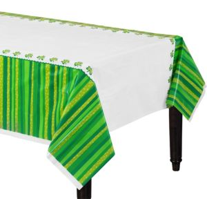 St. Patrick's Day Cheer Plastic Table Covers 3ct
