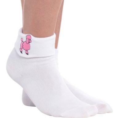 Adult Poodle Socks