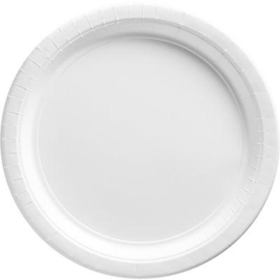White Paper Dinner Plates 20ct