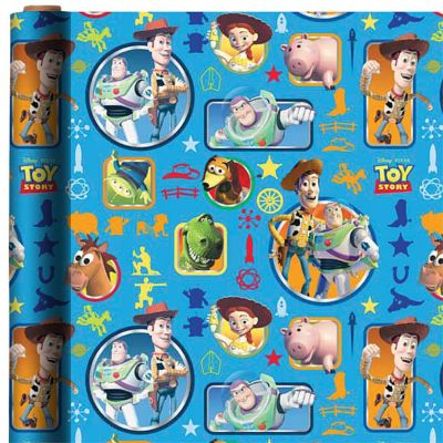 Toy Story Gift Wrap Party City