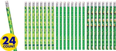 St. Patrick's Day Pencils 24ct