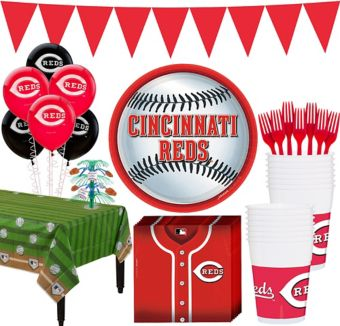 Cincinnati Reds Super Party Kit for 16 Guests