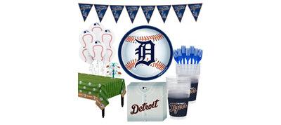 Detroit Tigers Super Party Kit