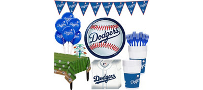 Los Angeles Dodgers Super Party Kit