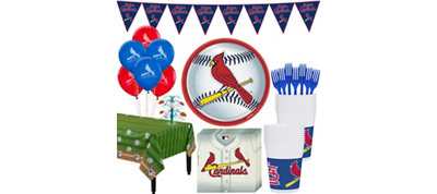 St. Louis Cardinals Super Party Kit for 16 Guests