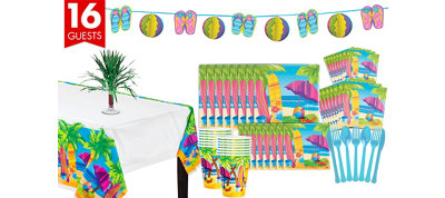 Surf's Up Deluxe Party Kit