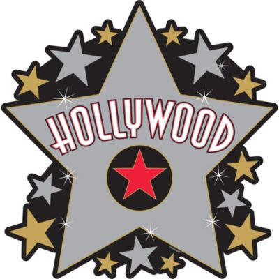Big Hollywood Star Cutout