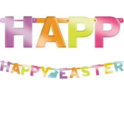 Easter Letter Banner