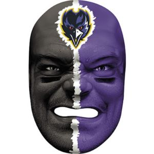 Baltimore Ravens Fan Face Mask