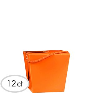 Orange Favor Boxes 12ct