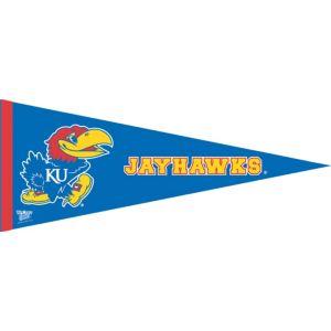 Kansas Jayhawks Pennant Flag