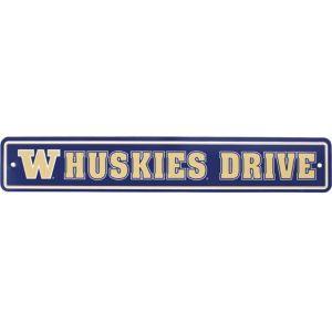 Washington Huskies Street Sign