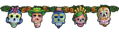 Day of the Dead Jointed Banner