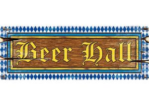 Oktoberfest Beer Hall Cutout Sign