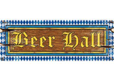 Oktoberfest Beer Hall Cutout Sign