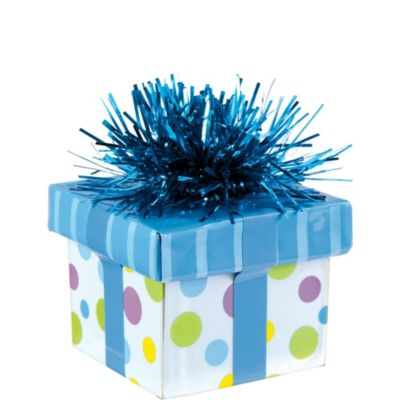 Blue Gift Pack Balloon Weight 6oz